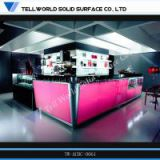 LED LightingClub Artificial Stone Bar Counter
