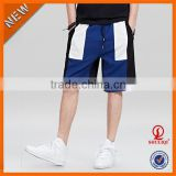Assorted color printed mens fashion shorts with pocket and zipper/wholesale cargo shorts printed men shorts