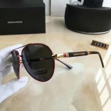 men and women's fashion metal sunglasses