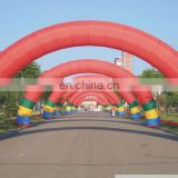 cheap outdoor inflatable rainbow arch inflatable advertising arch for sale