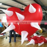 hanging decoration inflatable heart balloon