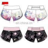 YUEPAI Fashion wholesale custom colorful sublimation yoga running shorts for women