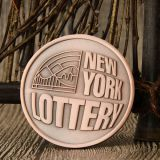 New York Lottery Custom Coins