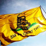 Garden Flag Dont Tread On Me – Double Sided 3x5 Ft -Strongest & Most Durable Colonial Flag for Long Lasting Display - Yellow & Black Coiled Rattle Snake...Dont Tread On Me,Flag,national flag,flag manufacturer,the authentic flag maker,flag with eyelets,fla