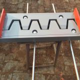 Steel plate finger type expansion joints for bridges