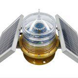 5nm Integrated built in replaceable battery waterway signal light/ marine light