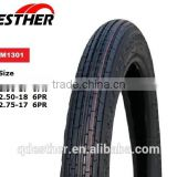 Nylon motorcycle/ scooter tires motorcycle tire 2.50-17