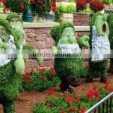 Lisaurus-S Christmas Atificial Grass Shopping Mall Decoration Animal Topiary for Garden Decor