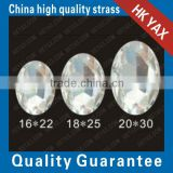China Factory Flat back Glass beads;china wholesale clear Glass Flatback beads;cheap Glass Flat back beads