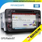 Erisin ES7063B 1 Din 7 inch Bluetooth Car Radio GPS for Mercedes G-Class W463