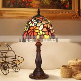 "wholesale 8""W Butterfly Flowers Stained Glass Tiffany Style Table Desk Lamp, Zinc Base!"