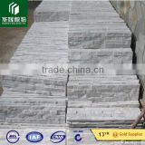 decorative stone design wall tiles/stacked culture stone/natural travertine white quartz stacked stone