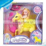Barbie Doll Toys With Wing Horse