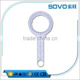 plastic wrench for water filter system/High quality water purifier water filter wrench/membrane housing wrench