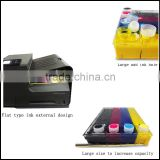 New product ciss for Hp 970/971 with 1000ml ink tank and permanent chips CISS for Hp officejet x451dn x451dw x476dn x551dw x576