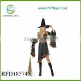Cute baby girl kids cosplay witch costume clothes