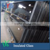 Sliding laminated insulated glass reception window for building glass with factory price