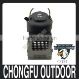 2016 New arrived Outdoor emergency a set wood burning stove wood burner and Tea Coffee Pot