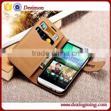 Soft Wallet Flip PU Leather Case for htc one e9