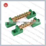 10pcs/lot,250V-450V Brass Screws Terminal 8*12mm Specification,10 Ways Green/Blue Electric Terminal Blocks Connector