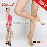 D004810 Sexy in-tube fishnet stockings fine nylon skin color tights for latin dance