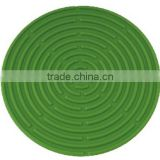 Circle diameter of 150mm impermeable silicone hot coaster trivet                                                                         Quality Choice