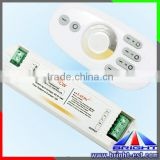 New product RF dimmer for led lights, led remote 2.4G touch controller, DC12V led dimmer