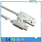 high-speed new products Blue light led micro usb cable with high quality