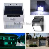 16leds outdoor solar light for enclosure