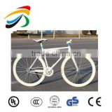 700C high strength steel frame famous parts fixed gear bike wholesale
