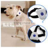 Vibration advanced electronic bark control collar