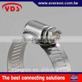 Stainless hose clamp machine flexible exhaust pipe hoseclamp