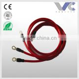 10AWG transparent Red PVC sheathed branch power cable copper conductor power cable