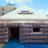 2015 New design highquality inflatable paintful bunker for sport/ inflatable shelter/ inflatable shadow wall