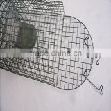 Plastic coated stainless steel metal mouse trap cage TLD2002
