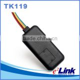 Vehicle GPS Tracker TK119 , Car Alarm GPS Quad-band cut off fuel monitor GPS tracking system