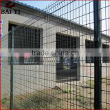 Galvanized Black Welded Wire Fence Mesh Panel (Good quality,low price,Factory wholesale)