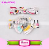 Baby Girl Newest Turban Headband Kid's Wrap Knotted HairBand Girl's Soft Headbands