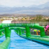 Guangzhou high quality manufacturer giant inflatable water slide long slide for kids and adults