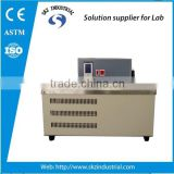 10L, temperature zero below 10C, and upto 95C degree, with heating and cooling systems, thermostat circulating water bath
