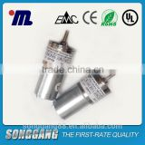 grey small size DC motor SGA-20RU19i applied automation equipment ATM roller shutter door