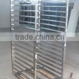 stainless steel baking oven racks /bakery trolley/baking trays