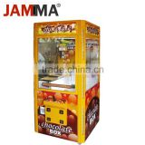 Chocolate vending machine crane rowing machine all metal cabinet crane claw machine for sale with low factory price