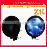 8'' inch big round blue halogen front rear head light fog light for jeep wrangler