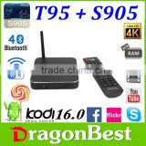 set top box HD 4K 2K Android TV Box Mali-450 up to k1 plus Android 5.1 Lollipop TV Box T95