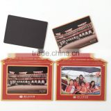 attractive design tourist souvenir PVC magnetic photo frame high quality magnetic photo frame gifts