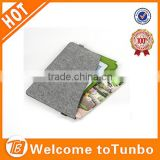 12 inch tablet cover logo printed laptop case felt sleeve in laptop bag