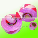 50 mic LDPE plastic barricade tape for construction site
