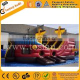 Inflatable pirate boat slide for kids best quality inflatable pirate ship for sale A3061