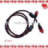 Wholesale Speaker AV Cable/20 years factory mini hdmi to av cable (cables hdmi with ferrites)